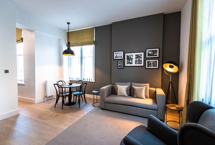 Supercity Aparthotels Living Area