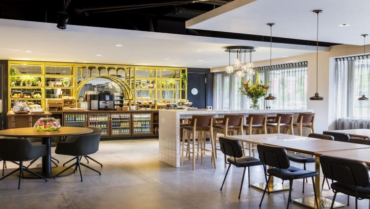 Communal space at the Adagio Amsterdam City South Apartments