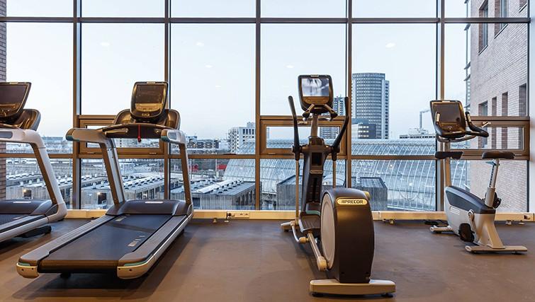 Gym at the Citadines Sloterdijk Station Apartments