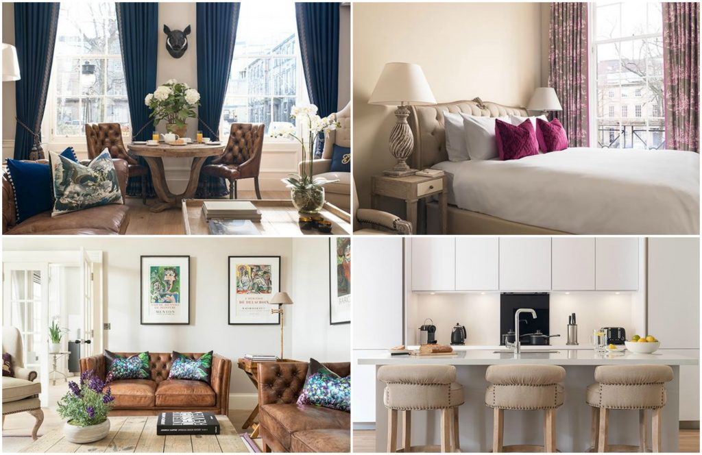 Accommodation in Edinburgh: luxury serviced apartments in The Rutland Residence