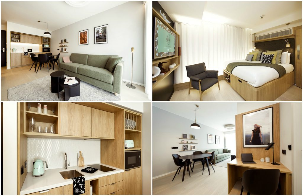 Luxury accommodation Wilde Aparthotels in Edinburgh