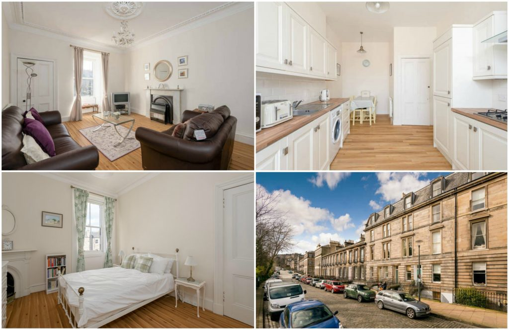 Private and homely, Dean Terrace Apartment in Edinburgh