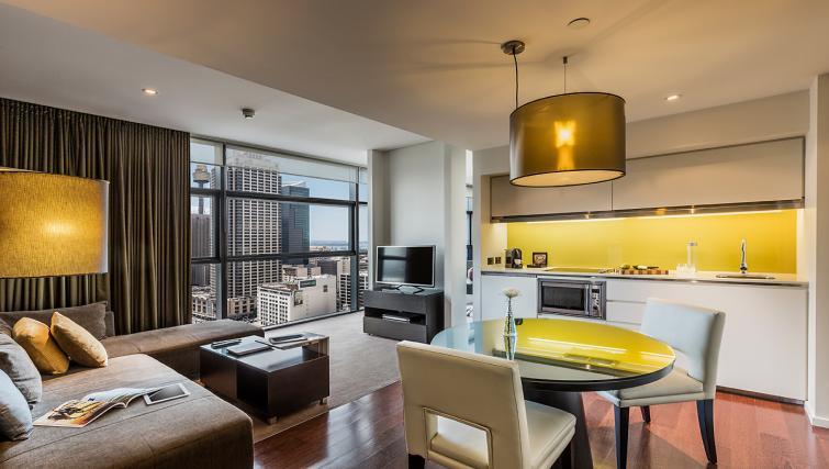 Sydney serviced apartments kitchen