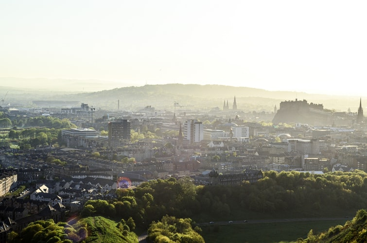 The fantastic views from Arthurs Seat, which can be viewed at the John McIntyre Conference Centre