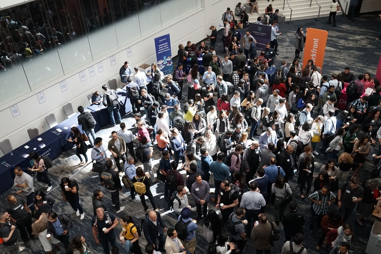 Foyers and breakout rooms allow for socialising and networking to happen at the conference.