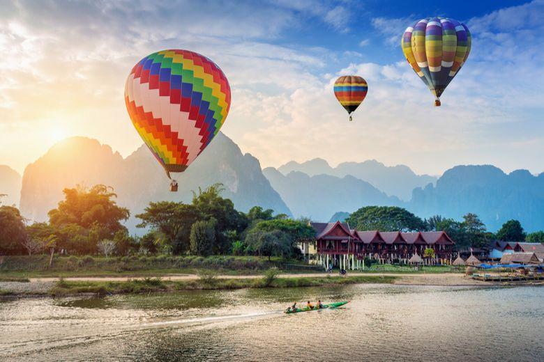 Laos landscape