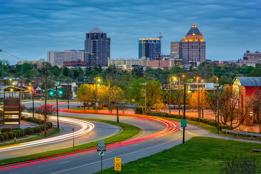 Photograph of Greensboro