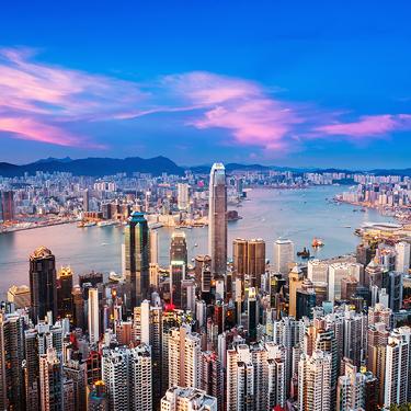 Photograph of Hong Kong