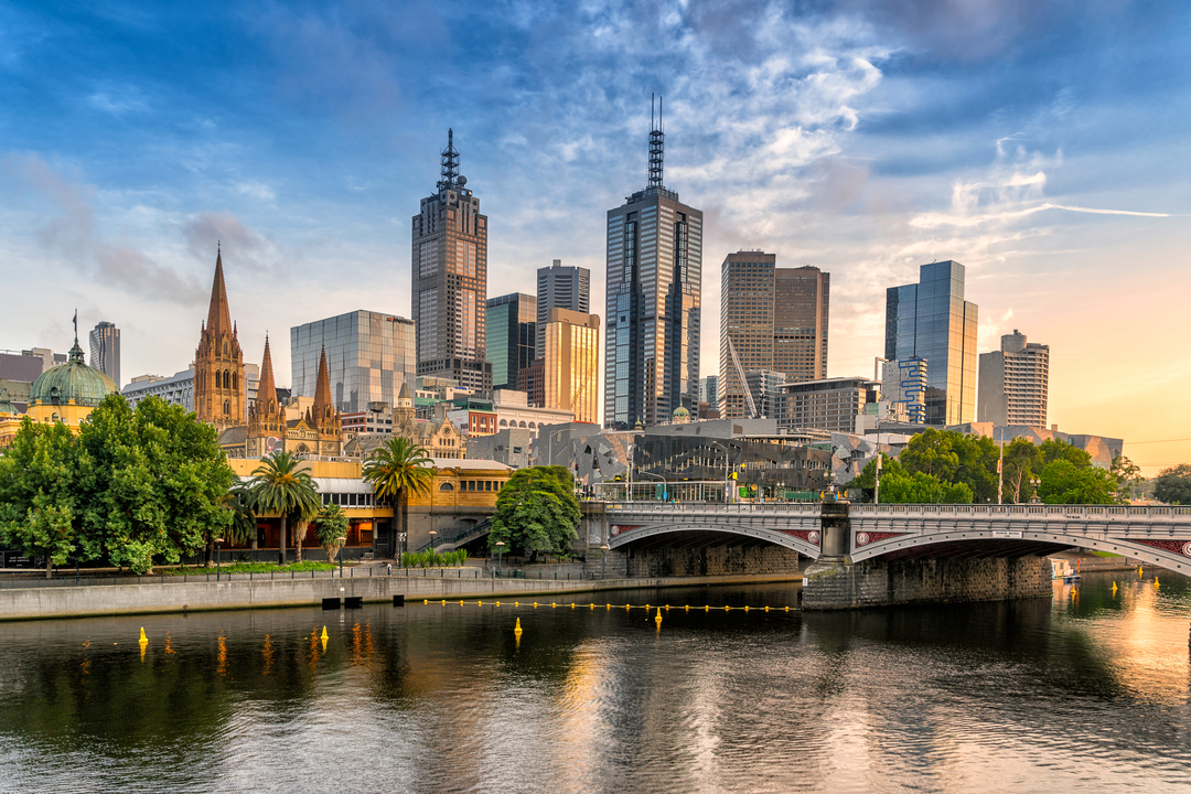 Photograph of Melbourne