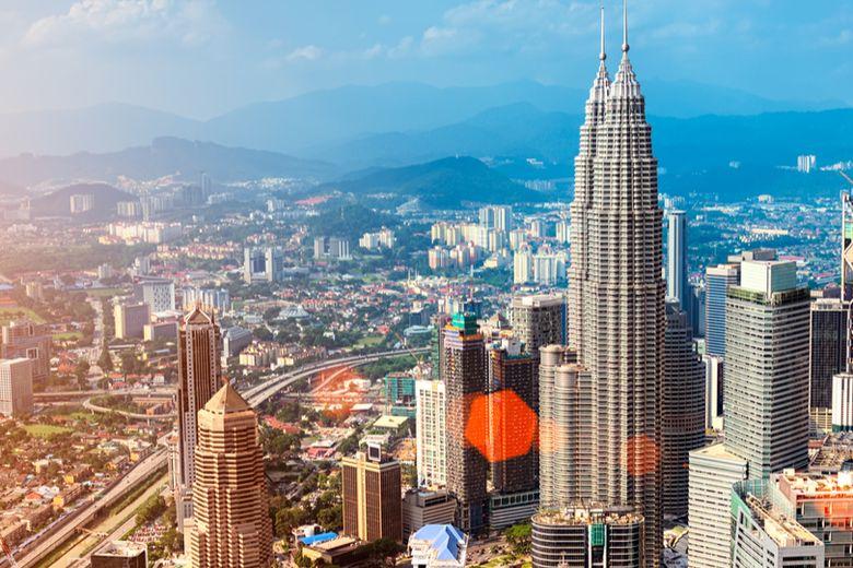 Malaysia's national flag, and Kuala Lumpur