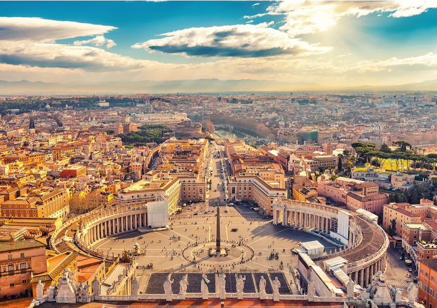 Photograph of Rome