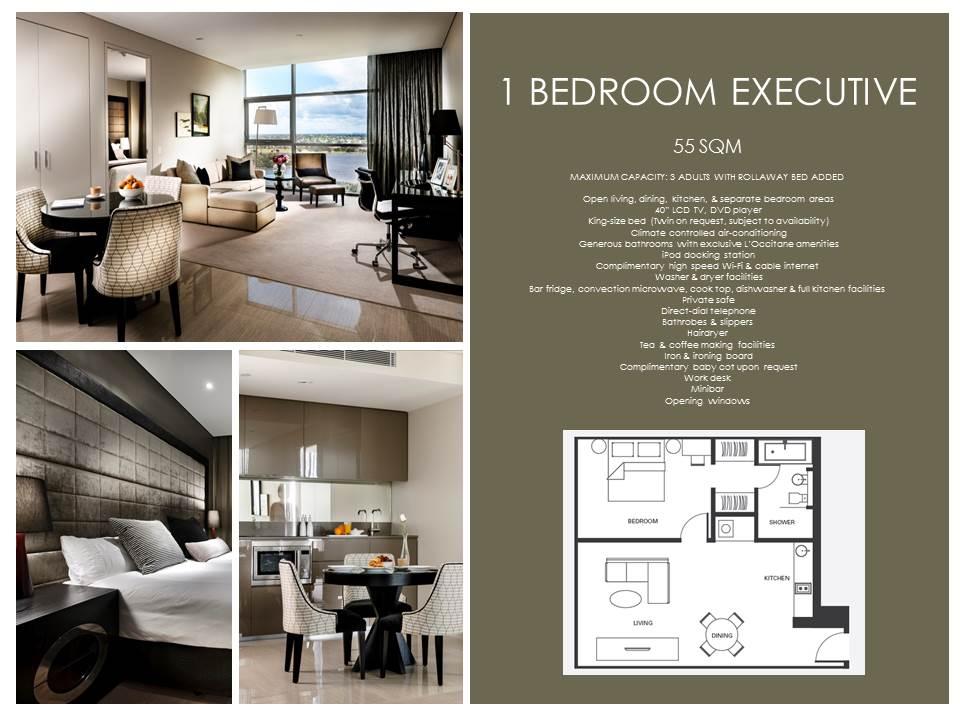 Floorplan 1 at  Fraser Suites Perth