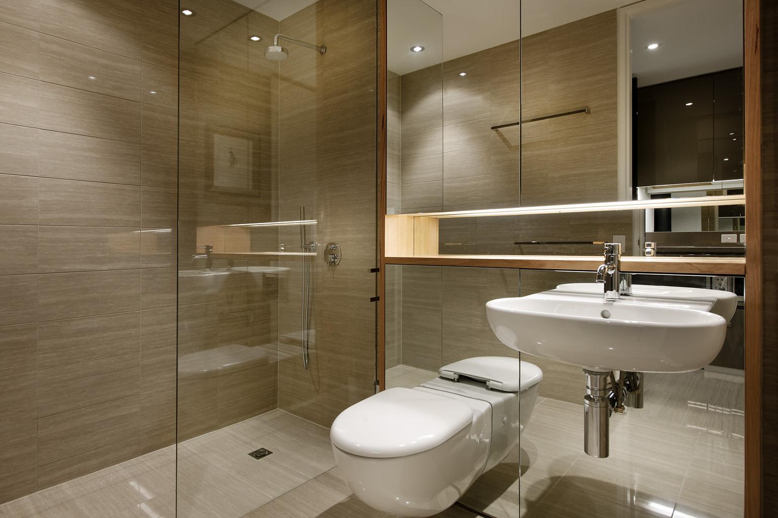 Bathroom at  Fraser Suites Perth