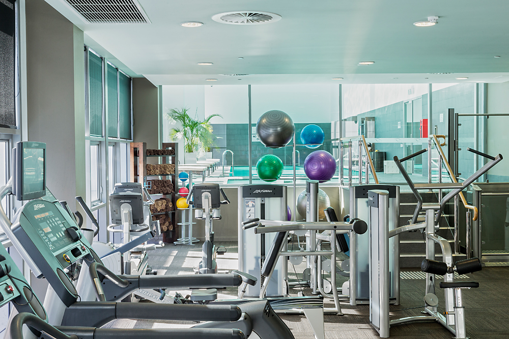Fitness Centre at Fraser Suites Perth