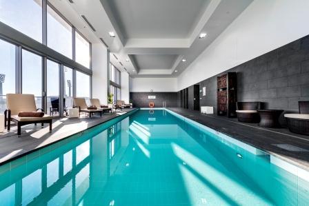 Indoor Pool at Fraser Suites Perth