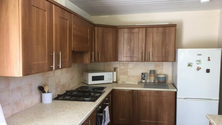Equipped kitchen at Winckley 33 Apartment