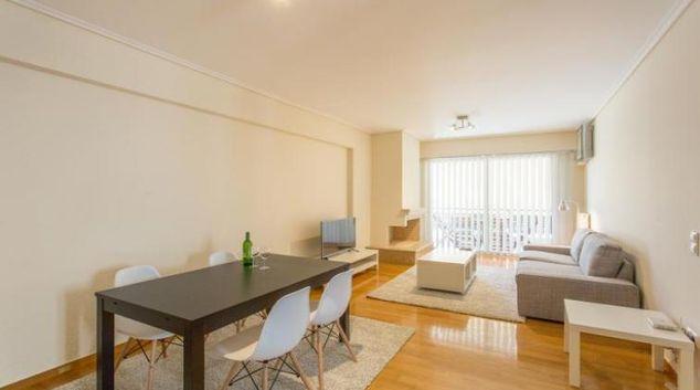 Living Room at the Kosma Etolou Apartment