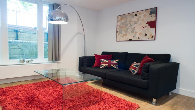 Ideal living area at Jubilee House Apartments