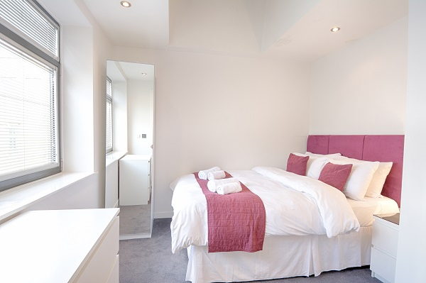 Bedroom at Watling Street Apartments