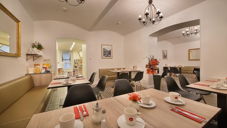 Breakfast room at Suite Home Prague
