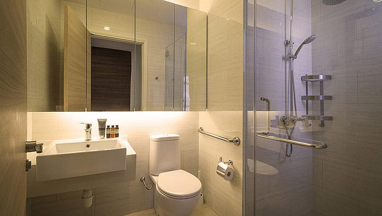 Bathroom at Oxley Thanksgiving Residence, Singapore
