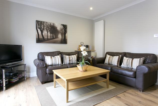 Living area in Wellgreen Gate