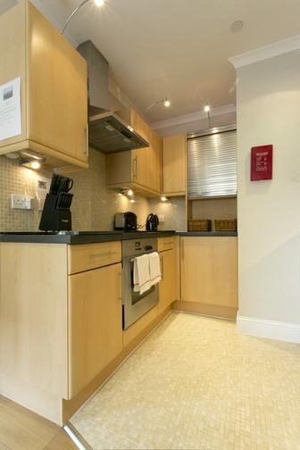 Kitchen in Wellgreen Gate