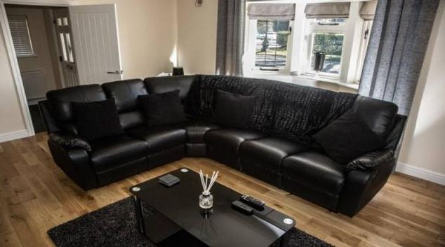 Comfortable living area at The Lodge at Mere Court