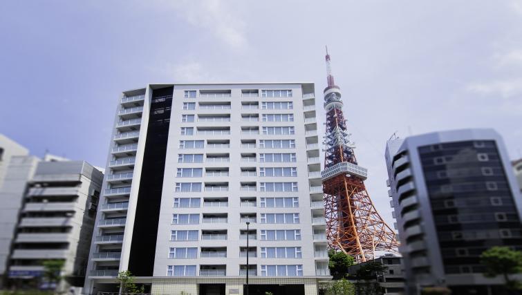 Oakwood Apartments Azabudai Tokyo Silverdoor