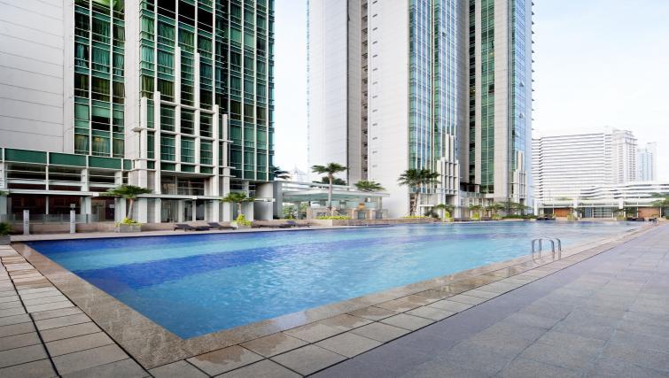 Swimming pool at Fraser Residence Sudirman Jakarta