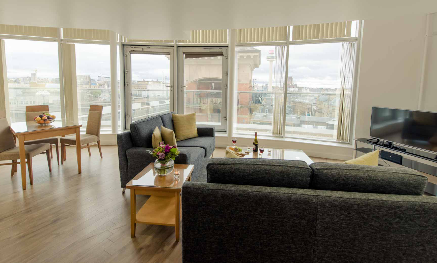 Window at Premier Suites Liverpool