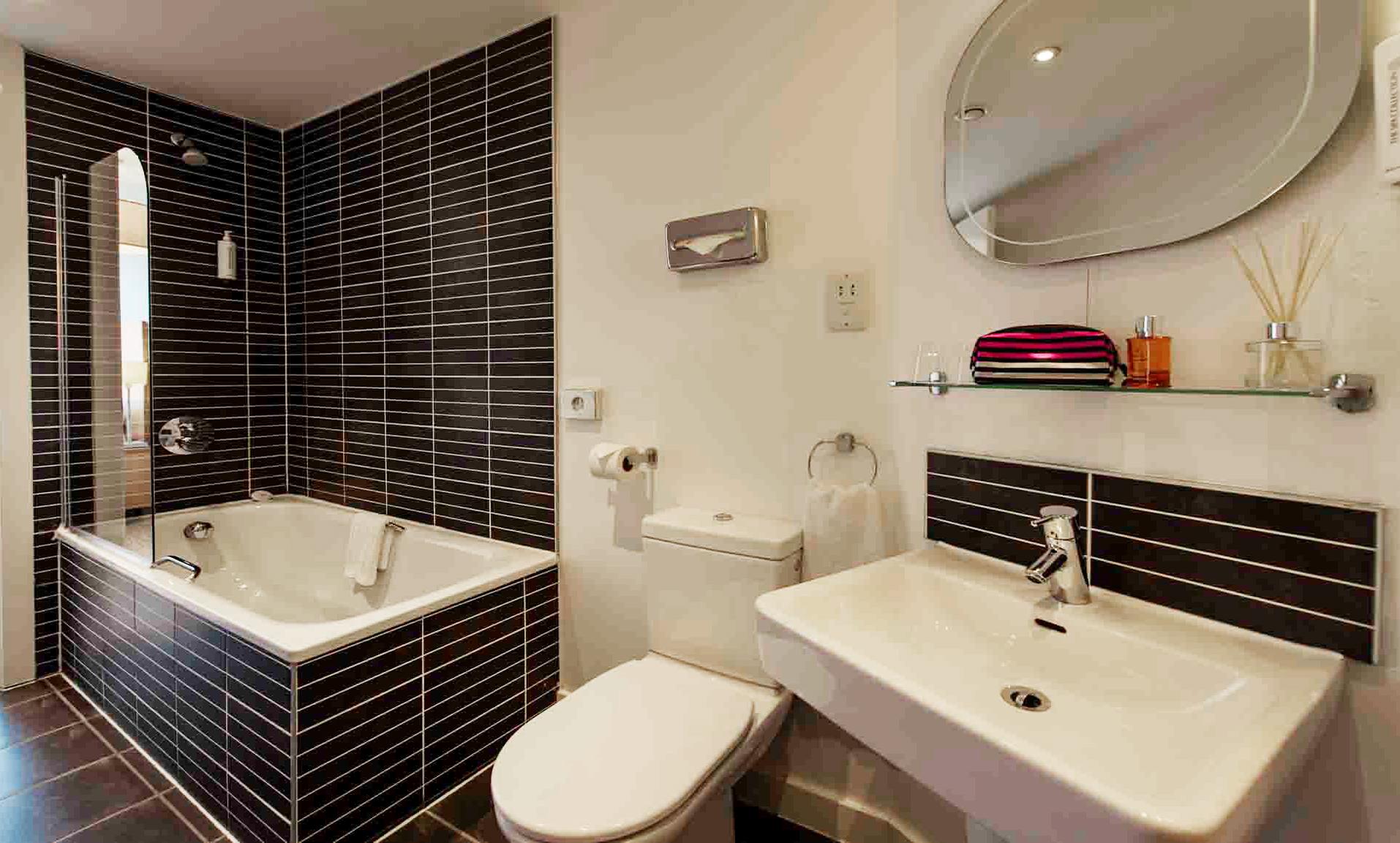 Bathroom at Premier Suites Liverpool