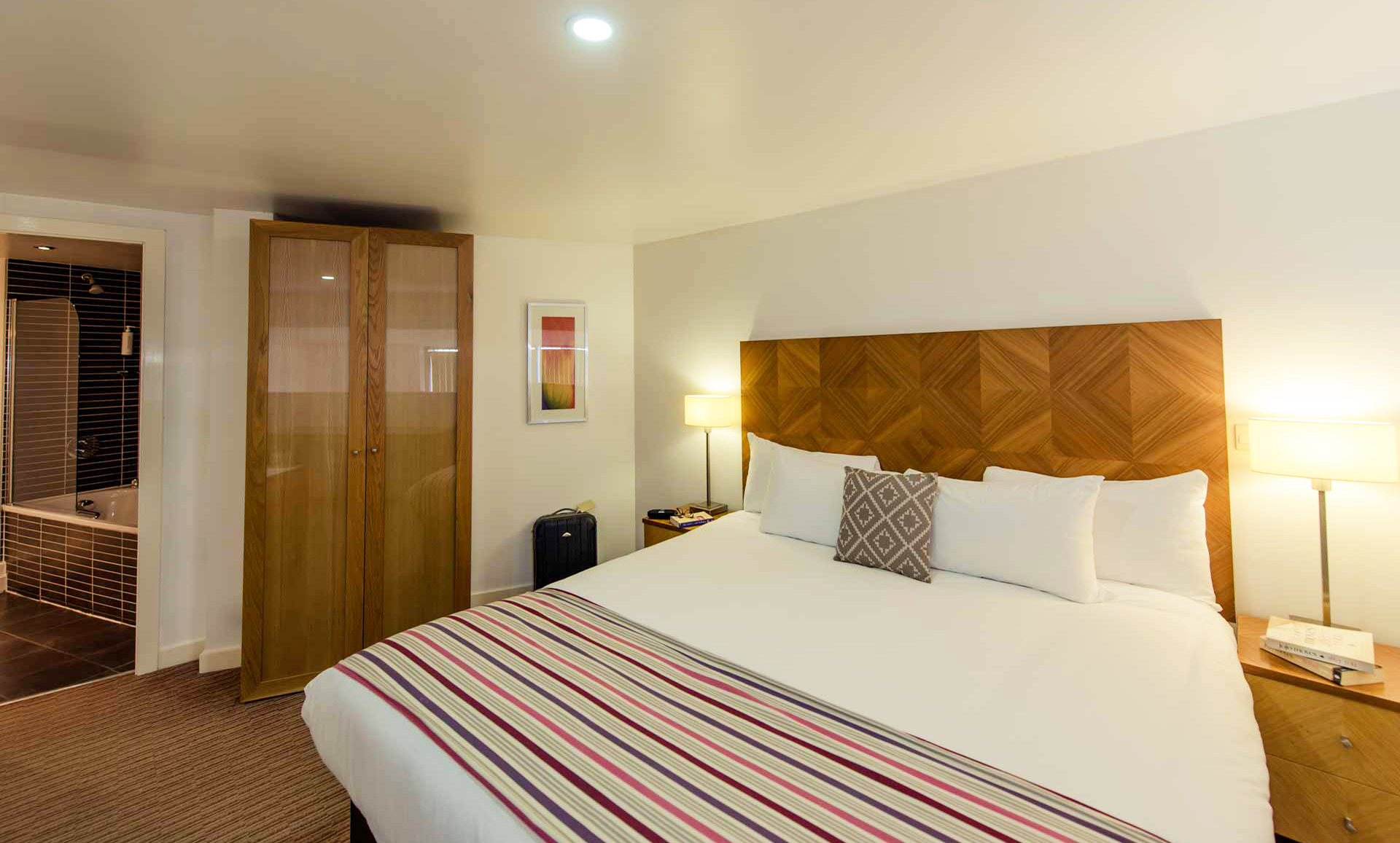Bedroom at Premier Suites Liverpool