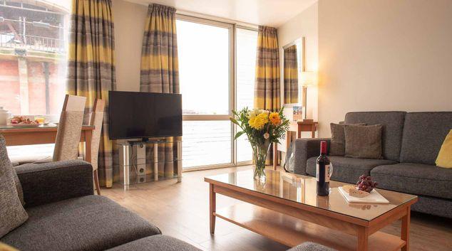TV at Premier Suites Liverpool, Centre, Liverpool