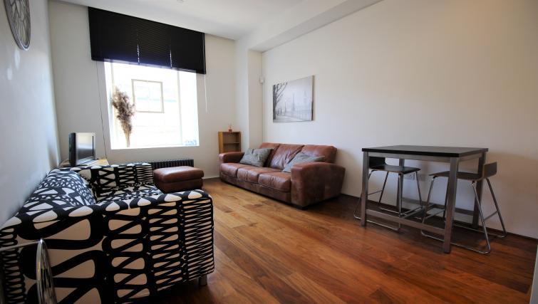 Spacious living area at Harbourside Apartment
