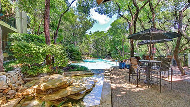 Patio and pool at Windsor at Barton Creek