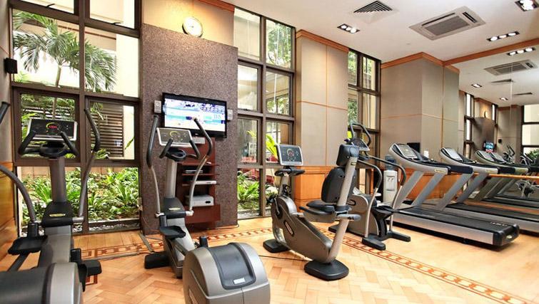 Gym at Orchard Park Suites, Singapore