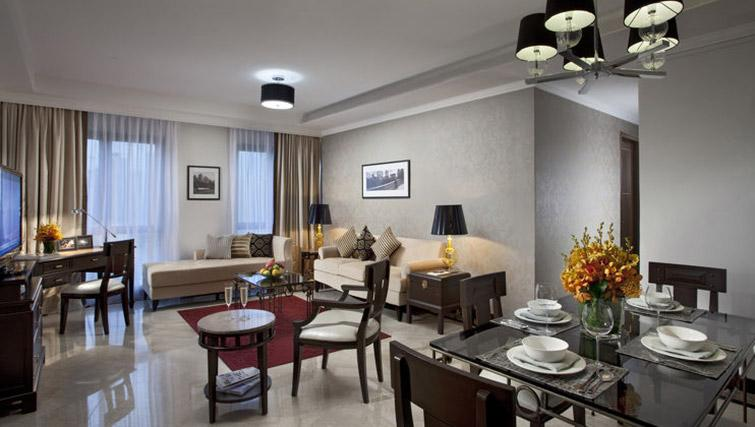 Living room at Orchard Park Suites, Singapore