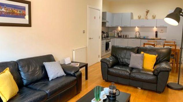 Living room at Principal Ingram Apartment