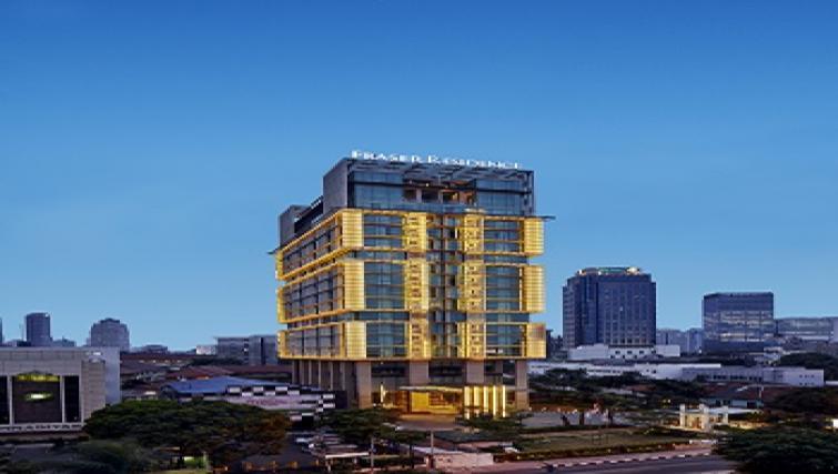 Building at Fraser Residence Menteng Jakarta
