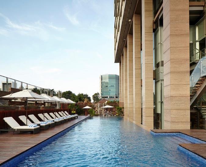 Swimming pool at Fraser Residence Menteng Jakarta, Centre, Jakarta