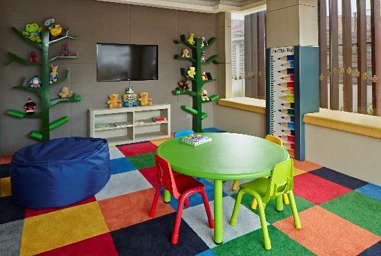 Children's room at Fraser Residence Menteng Jakarta, Centre, Jakarta