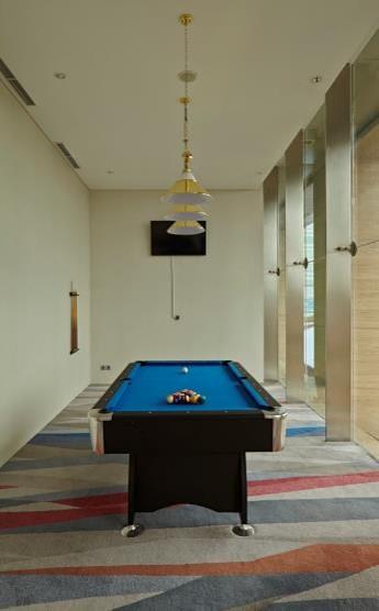 Pool room at Fraser Residence Menteng Jakarta, Centre, Jakarta