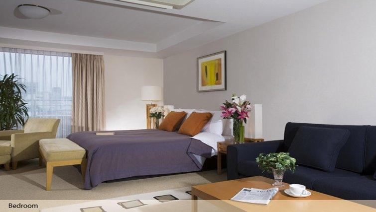 Bedroom in Oakwood Residence Aoyama Tokyo