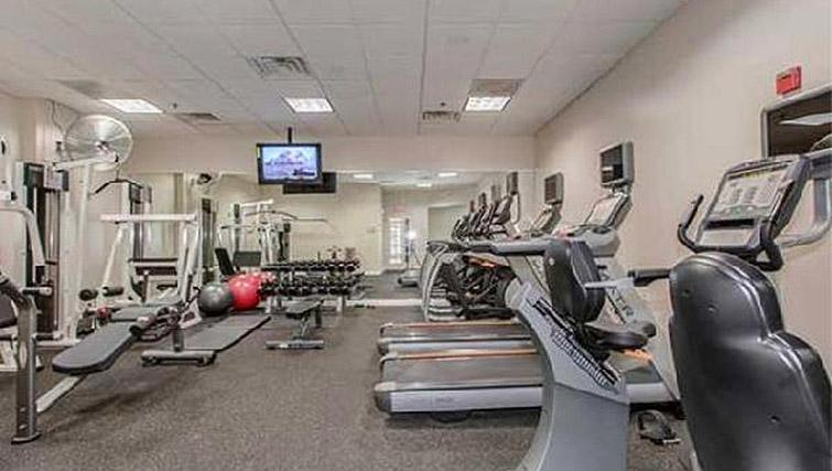 Gym at Avalon Clarendon Apartment