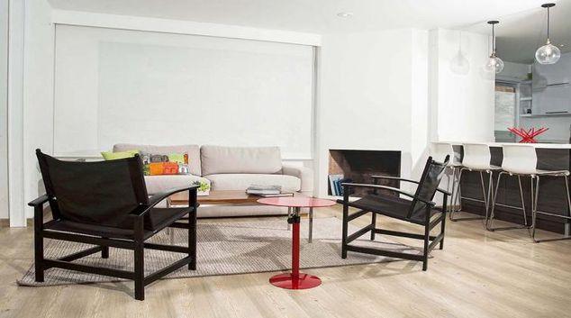 Living area at Myrcella Apartment