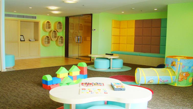 Child's play room at Premier Cozmo Apartments