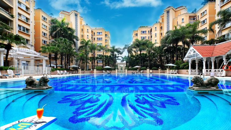 Pool at Oakwood Gold Arch Residence Guangzhou