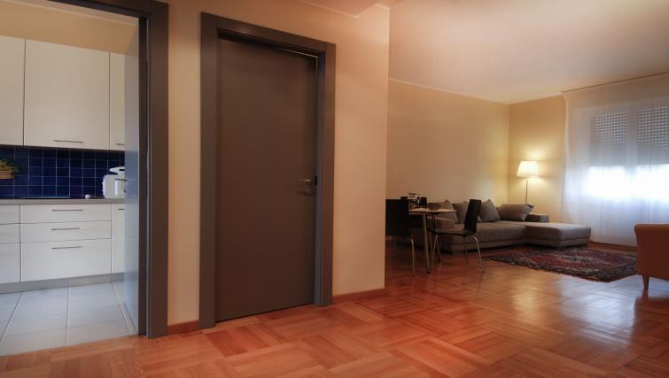 Living room at Domenichino Apartment