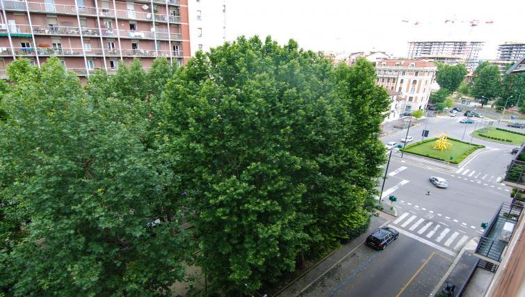 View from Domenichino Apartment